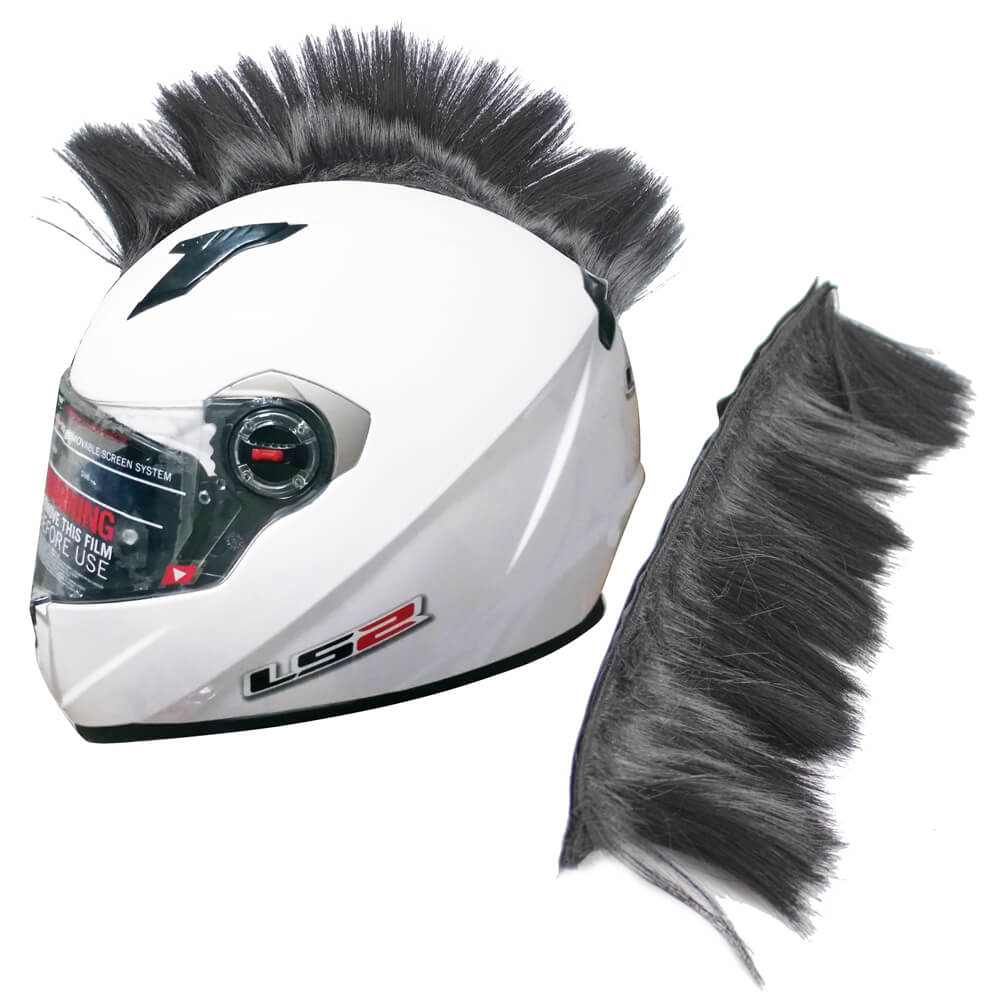 Motorcycle Multi-color Helmet Hawks Hair Mohawk Outdoor Riding Helmet Decoration Ski Snowboard Attached Feathers Paintball Helmets - pazoma