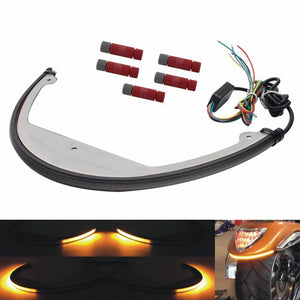 Pazoma Suzuki M109R Rear LED Turn Signals / Brake Light /Taillight Signal Sequential Switchback Flowing Light Kit - pazoma