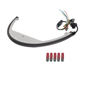 Suzuki Boulevard 1800 M109R BOSS M90 Sequential LED Taillight Tail Tidy Fender Eliminator Kit '06-Up - pazoma