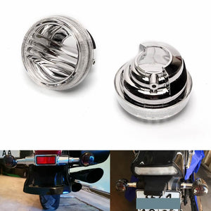 Smoke Clear LED Light Cover Lens Motorcycle Turn Signal Lense For Suzuki Boulevard M50 C50 VL800 C90 1500 M109R C109R C1800R - pazoma