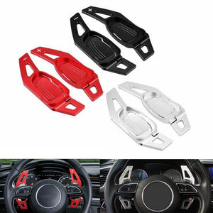 Aluminum CNC Car Gear Shifter Steering Wheel Shift Paddle DSG Extension For Audi A5 S3 S5 S6 SQ5 RS3 RS6 RS7 - pazoma