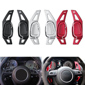 Audi A5 S3 S5 S6 SQ5 RS3 RS6 RS7 Car Gear Shifter Steering Wheel Shift Paddle Extension - pazoma