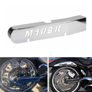 Suzuki Boulevard M109R VZR1800 M1800R Chrome Right Side Swingarm Cover With LOGO All year - pazoma