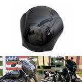 Motorcycle Headlight Quarter Fairing & Smoke Windshield For Harley Dyna Sportster XL 88-16 Dyna 95-05 FXR 86-94 - pazoma