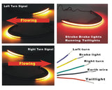 Red/Amber Truflux Rear LED Turn Signal Kit 06-19 SUZUKI Boulevard VZR1800 M109-RR-TFARRAY - pazoma