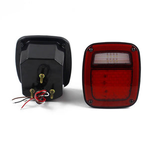 Led Signal Reverse Lamp License Plate Light 12V Rear Tail Brake Light for 1976-2006 Jeep Wrangler Jk Car Styling - pazoma