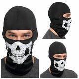 Motorcycle Balaclava Skull Full Face Guard Cover Warmer Windproof Breathable Airsoft Paintball Cycling Ski Shield Anti-UV Sun Hats Helmet - pazoma