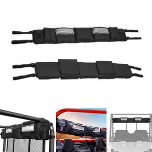 UTV Roll Cage Organizer Case Gear Bags Storage Bag Great Tools Storage Solution for Polaris Yamaha Kawasaki Honda Can-AM UTVs - pazoma