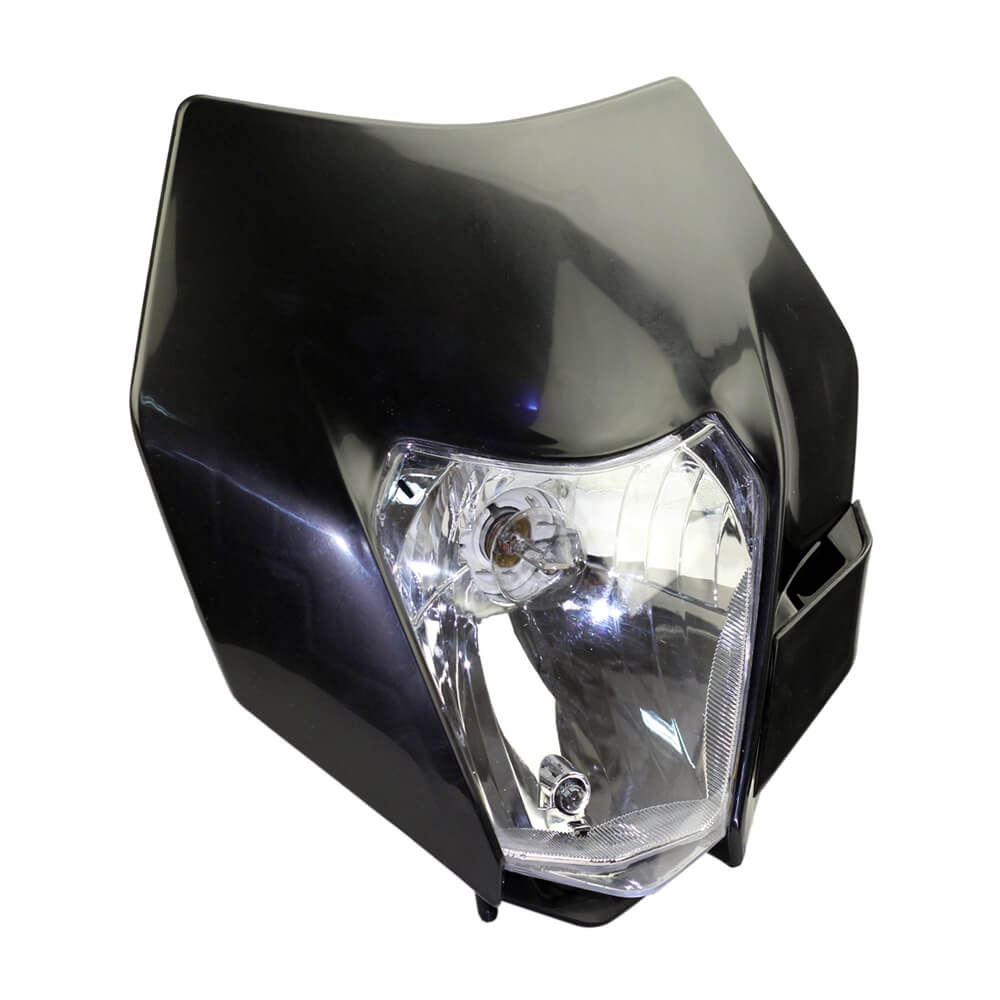 Headlight Headlamp Fairing For KTM SX F EXC XCF SMR 2014 15 16 Motorcycle Dirt Bike MX Enduro Supermoto With H4 Bulb - pazoma