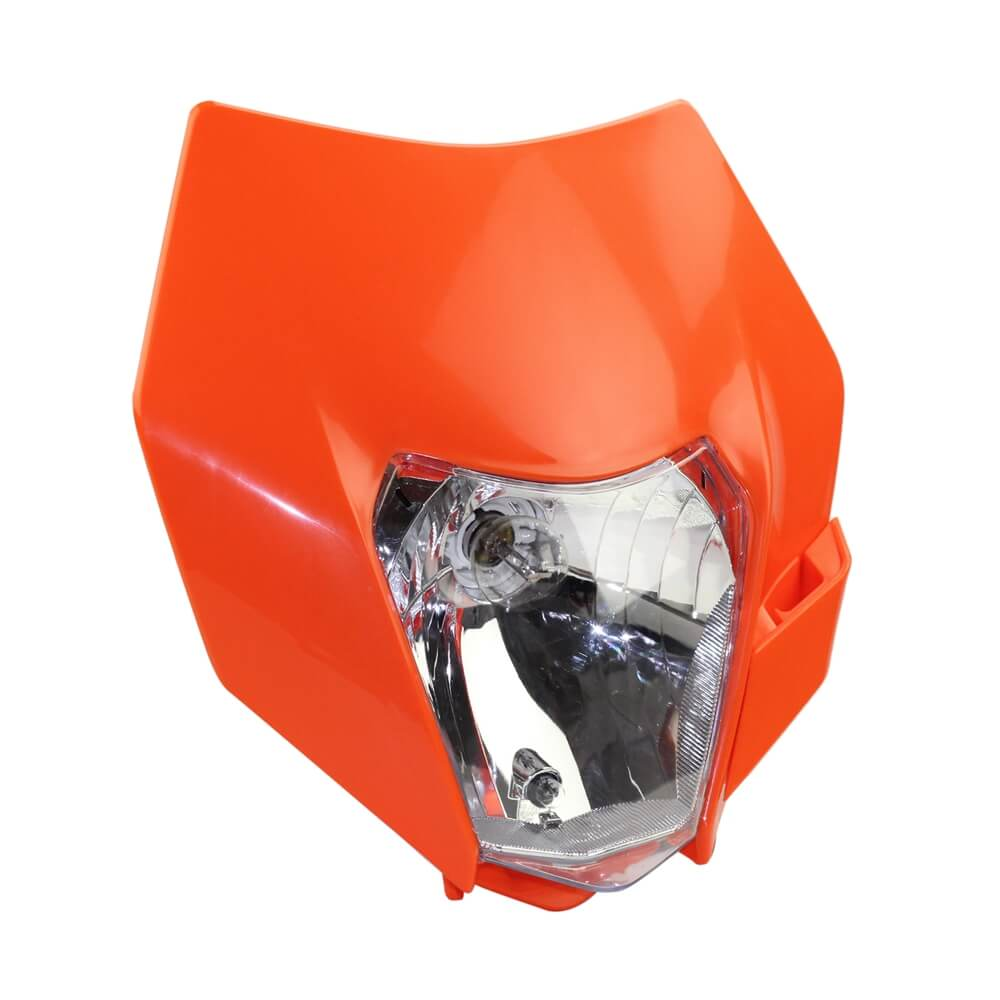 New Orange Headlight Head Lamp Light Streetfighter For KTM EXC EXCF XC XCF XCW XCFW SX SXF SXS SMR 125 250 350 450 500 505 520 530 - pazoma