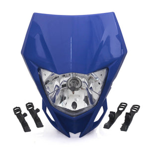 Motorcycle Headlight Headlamp For YAMAHA WR250F 2015-2018 WR450F 2018 MX Enduro Dirt Bike Universal CRF YZF DRZ KLX - pazoma