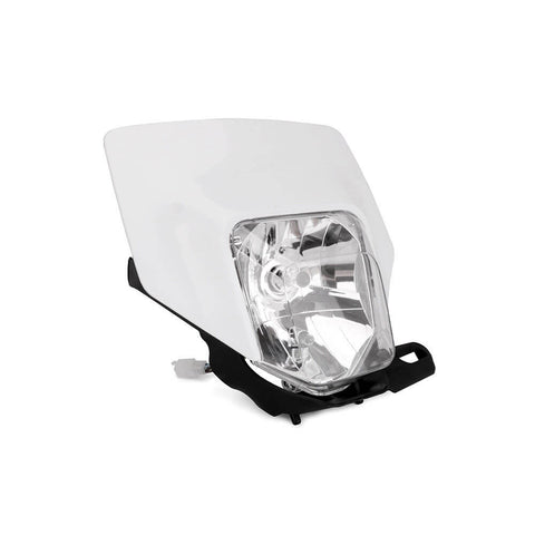 White Motorcycle Motocross Dirt Bike Headlight MX Enduro Headlamp for Husqvarna FE TX TE 125 150 250 300 350 450 501 701 2017-2019 - pazoma