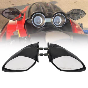 Yamaha OEM PWC WaveRunner 2005-2009 Mirror Kit (LEFT AND RIGHT), VX110 Cruiser Deluxe Sport Mirrors Set - pazoma