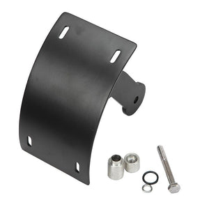Motorcycle Curved Swingarm Vertical Side Mount License Number Plate Tag Holder Bracket For Suzuki Boulevard M109R M1800R VZR1800 2006-2019 - pazoma