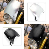 Motorcycle Windshield Wind Deflector Windscreen Headlight fairing For BMW R NINE T NINET R9T R 9 T 2014-2019 Aluminum Black Silver