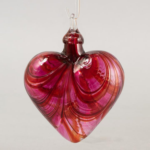 Glass Eye Ornaments Red/Pink Collection