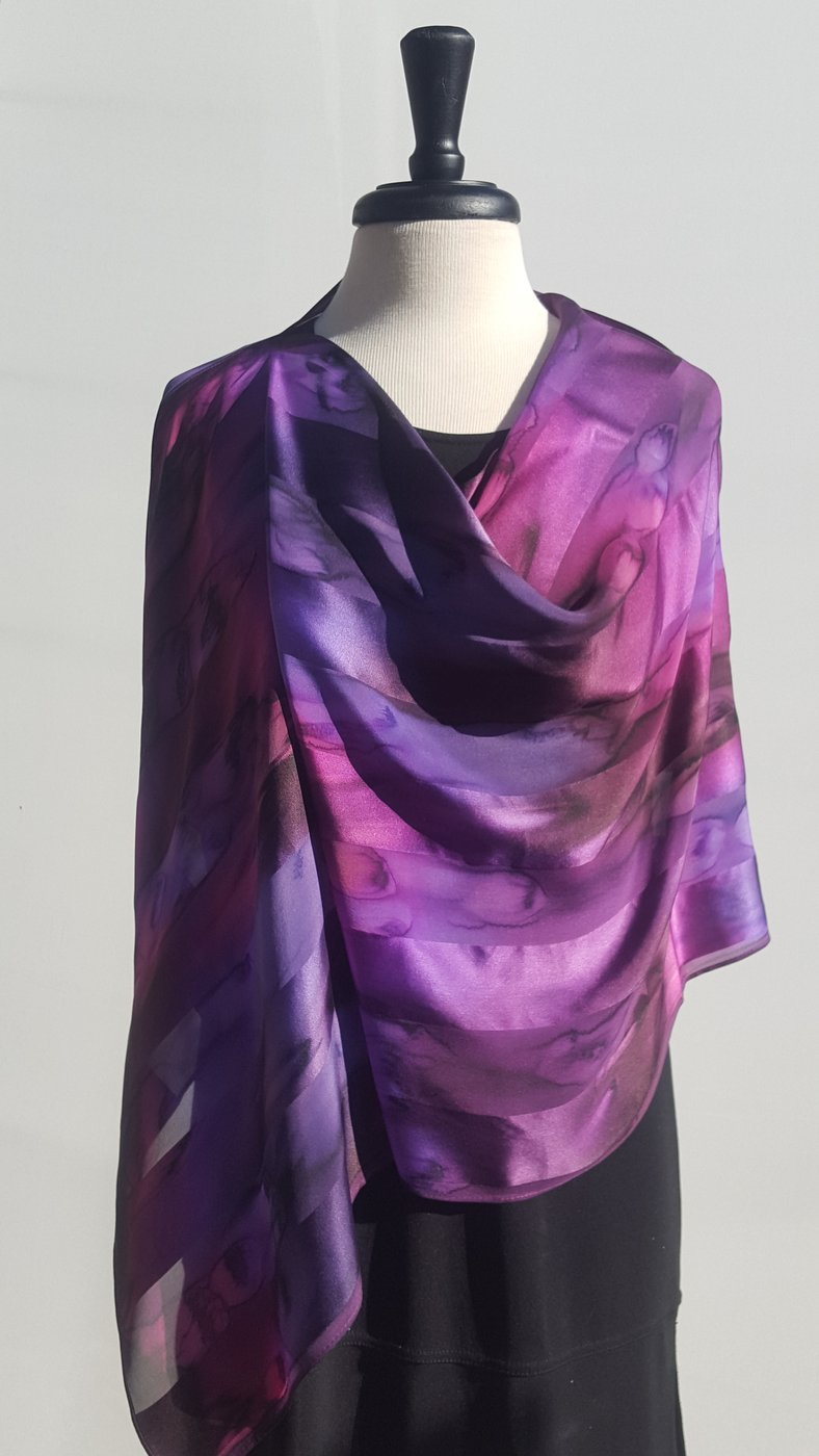 Sconcho Scarves Silk-Multiple Colors