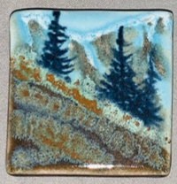 Carol Muth Pottery Magnets