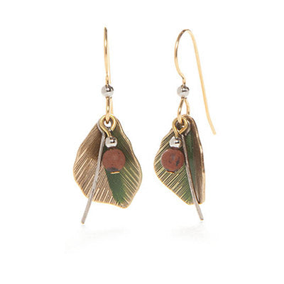 Silver Forest Earrings: Fall Collection