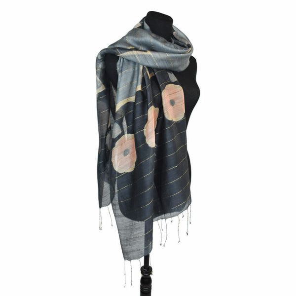 Dupatta Mixed Wool & Silk Scarves