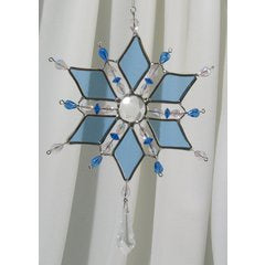 Snowflake Diamond Suncatcher