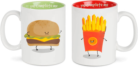 You Complete Me Mug Sets