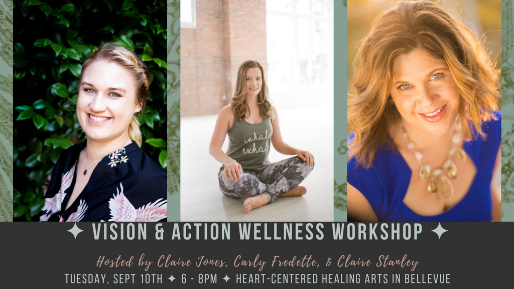 Vision & Action Wellness Workshop for Small Business Owners | Clarifications Coaching LLC