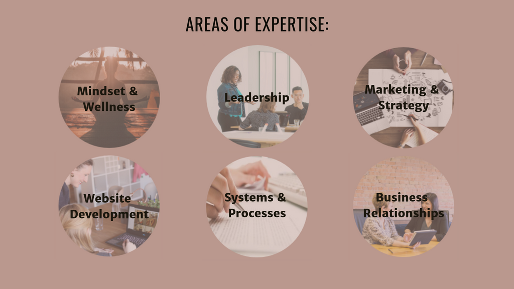 Areas of Expertise | Leadership Coach & Business Consultant | Clarifications Coaching LLC