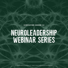 Load image into Gallery viewer, NeuroLeadership Webinar Series