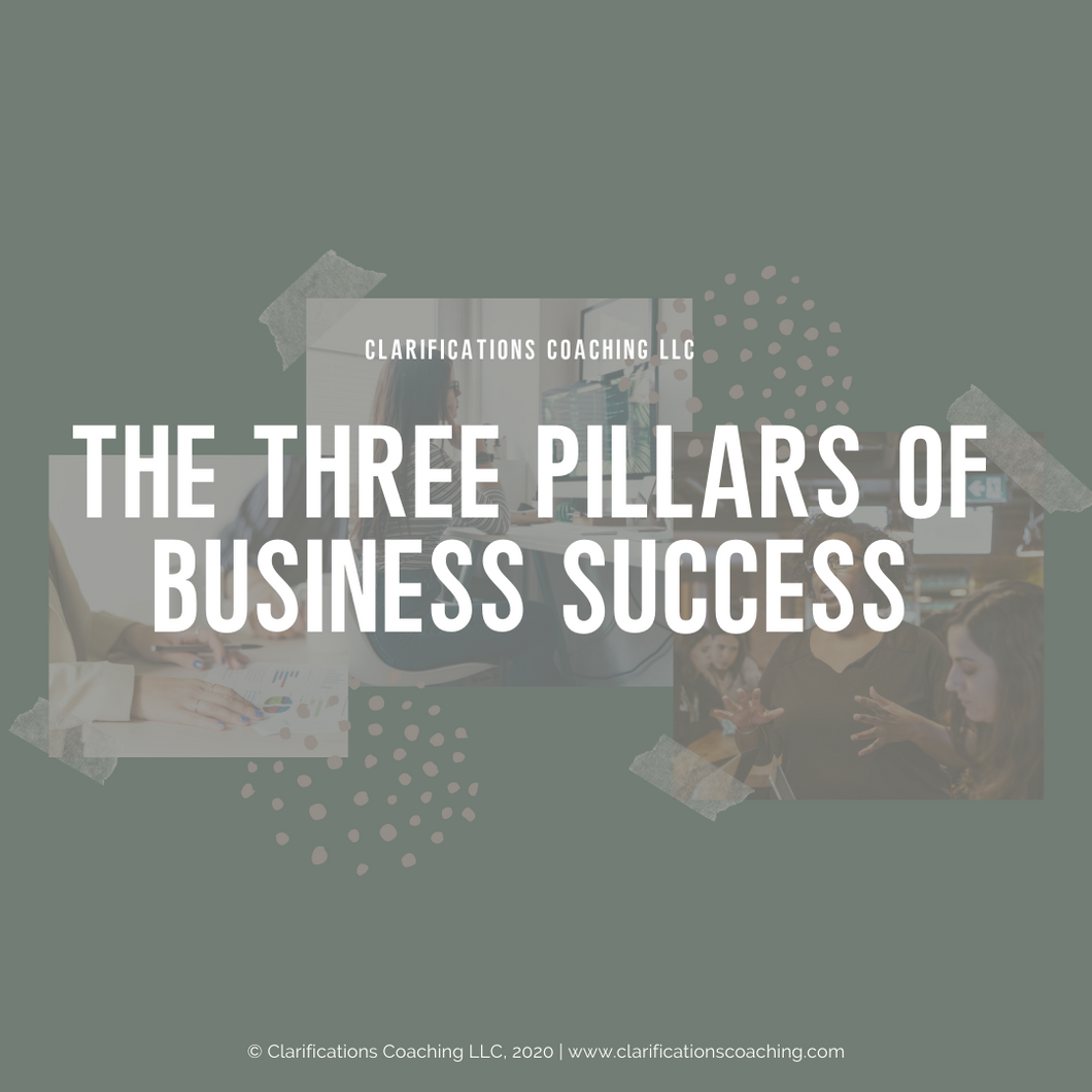 Three Pillars Webinar Course