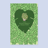 Monstera Pin + Post Card