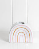 Vase - Rainbow Pink Metallic
