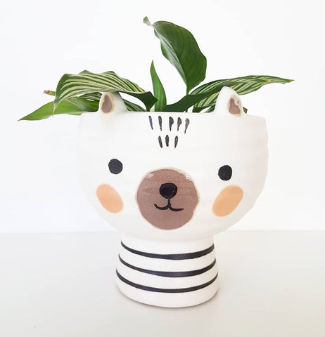 Ollie Bear Pot
