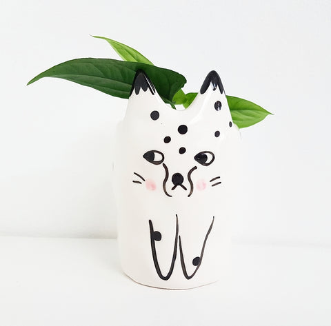 Meme Meow Cat - Planter