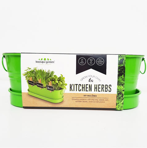 Grow Your Own Kitchen Herb Kit