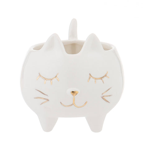 Waffles Cat Planter