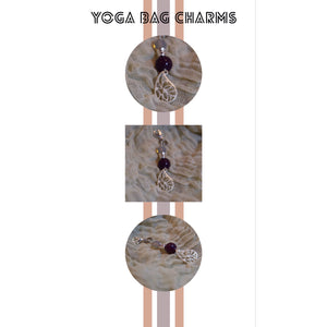 Meditation Charms - For Purses, Luggage, Yoga Bags, Pet Collars, Etc.