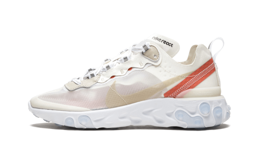 React Element 87 Sail Light Bone - The Sole House - Sneakers Limitées | 100% Neuves & Authentiques -  Brand New and Limited Sneakers