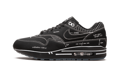 Air Max 1 Tinker Schematic Black - The Sole House - Sneakers Limitées | 100% Neuves & Authentiques -  Brand New and Limited Sneakers