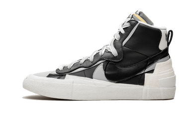 Blazer High Sacai Black Grey - Sneakers Ressel The Sole House