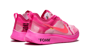 Nike Zoom Fly Off White - Tulip Pink