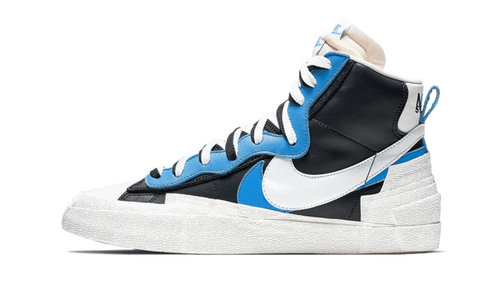 Blazer High Sacai White Black Legend Blue - The Sole House - Sneakers Limitées | 100% Neuves & Authentiques -  Brand New and Limited Sneakers
