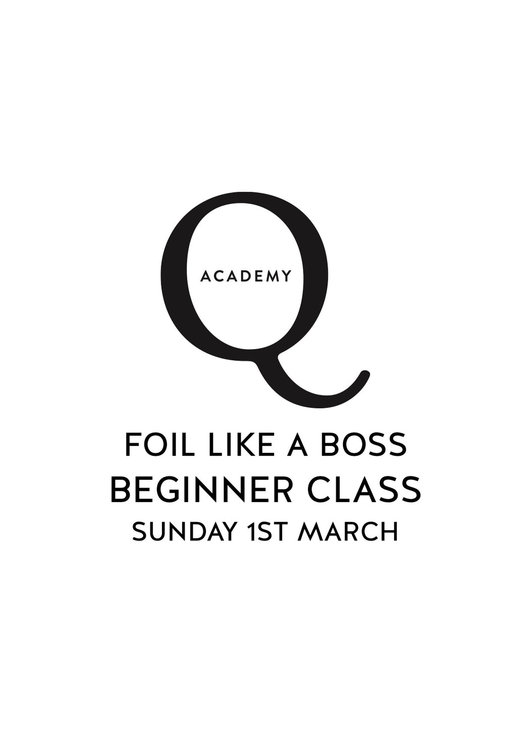 Foil Like A Boss BEGINNER: Sydney Sunday 1st March