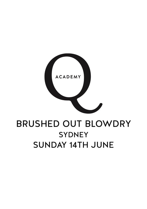 THE BRUSHED OUT BLOW DRY: SUNDAY 14TH JUNE