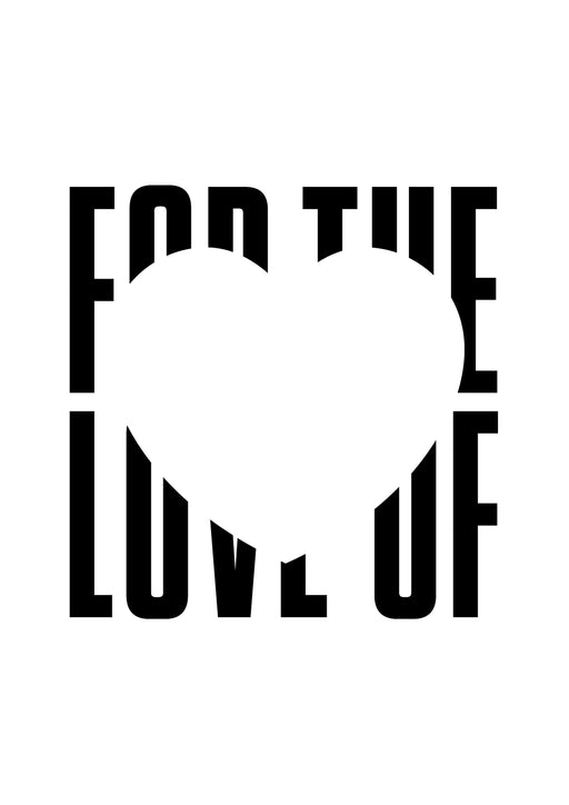 FOR THE LOVE OF: LIVE ! 20TH OCTOBER SYDNEY