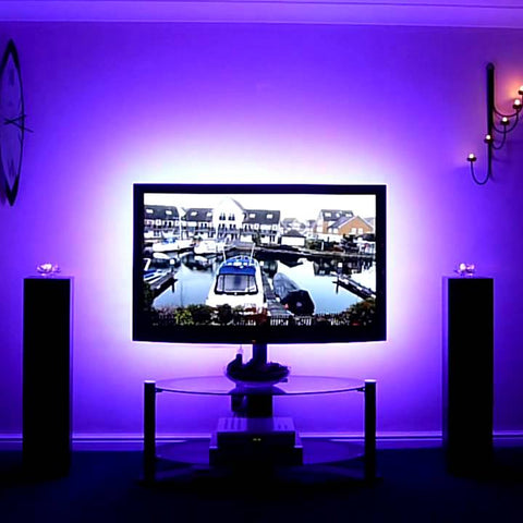 LED Strip lights for TV backs