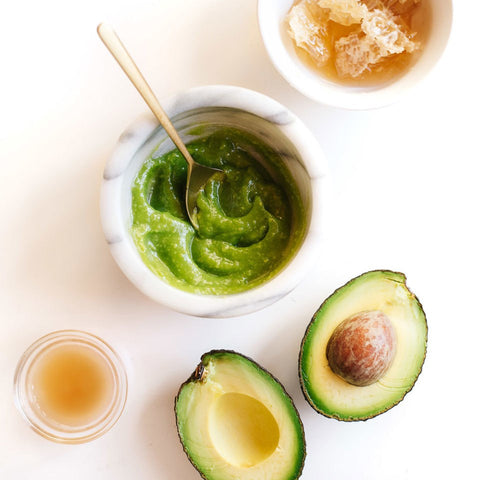 How to make Avocado Facemask/ DIY Avocado Facemask