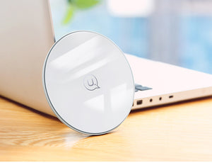 Glass disc wireless charger