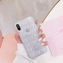 Load image into Gallery viewer, 3D Love Heart Bubble Pop Phone Case