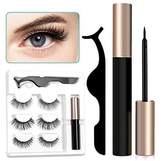 Magnetic Eyelash Kit (Free Lashes Included)